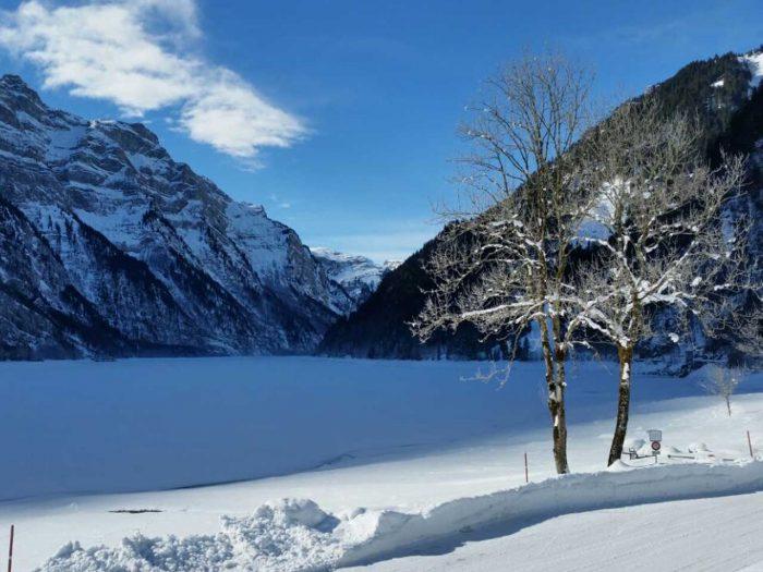 Winter-Quickie – Eiszauber im Klöntal