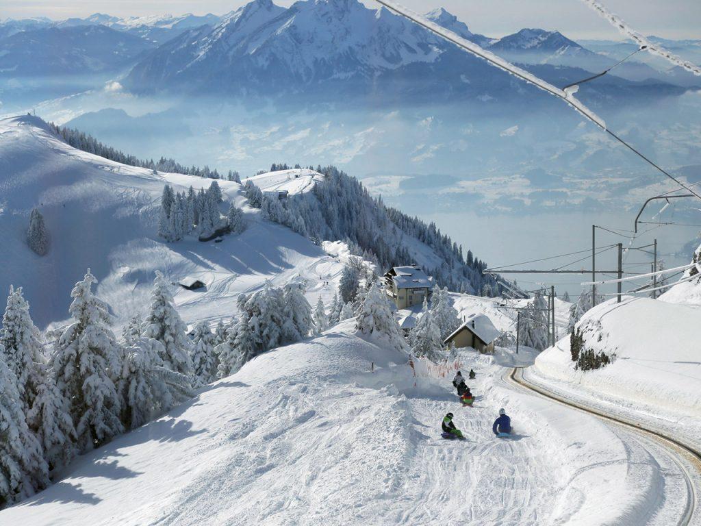 Winter Familienhit auf der Rigi
